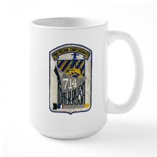 USS WILLIAM R. RUSH Mug