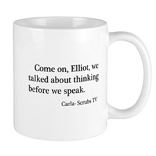 Thinking Before We Speak Quot Mug