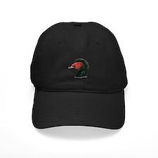 Muscovy Duck Head Black Baseball Hat