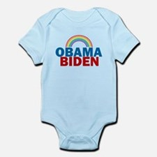 Obama Rainbow Infant Bodysuit