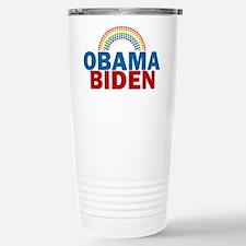 Obama Rainbow Stainless Steel Travel Mug
