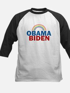 Obama Rainbow Kids Baseball Jersey