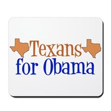 Texans for Obama Mousepad