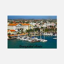 Aruba Rectangle Magnet