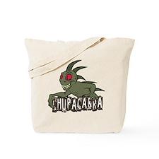 Cartoon Chupacabra Tote Bag