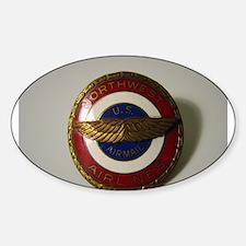 Unique Northwest airlines Sticker (Oval)