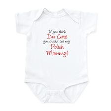 Think I'm Cute (Handwritten) Infant Bodysuit