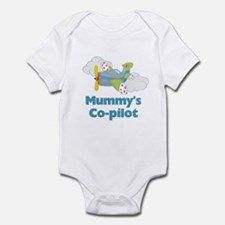 Mummy's Co-pilot Airplane Infant Bodysuit
