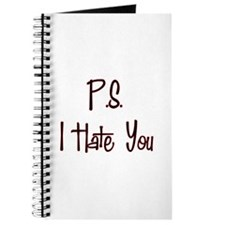 P.S. I Hate You Journal