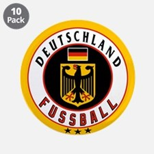 """Germany Soccer/Deutschland Fussball 3.5"""" Button (1"""