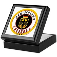 Germany Soccer/Deutschland Fussball Keepsake Box