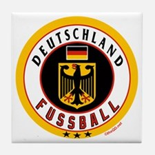 Germany Soccer/Deutschland Fussball Tile Coaster