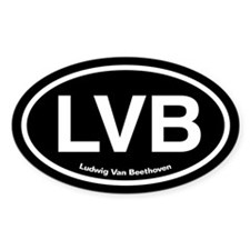 LVB Ludwig van Beethoven Decal