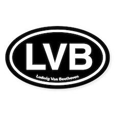 LVB Ludwig van Beethoven Decal
