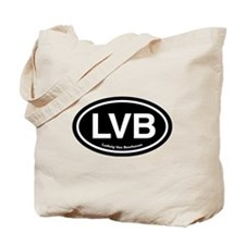 LVB Ludwig van Beethoven Tote Bag