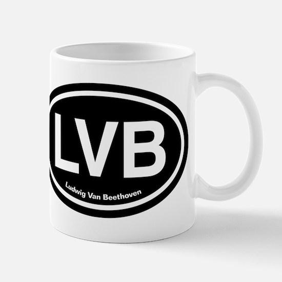 LVB Ludwig van Beethoven Mug