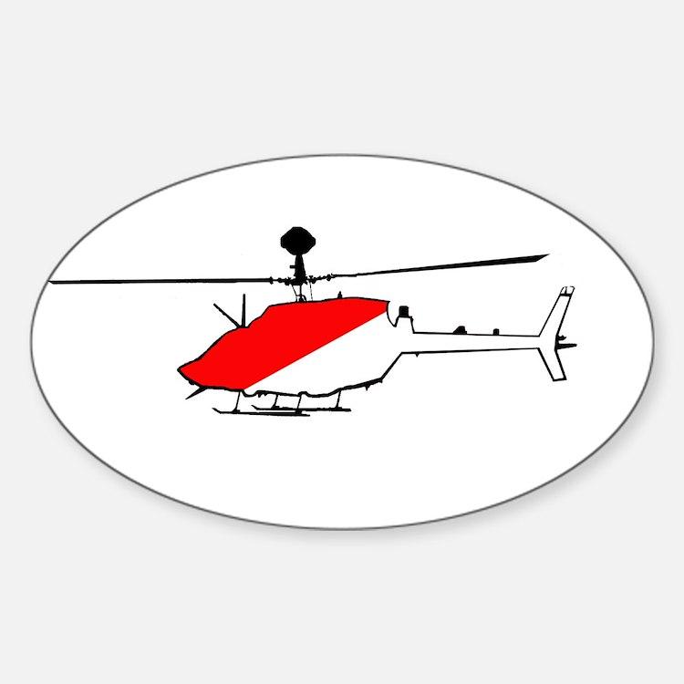 Kiowa CAV Sticker (Oval)
