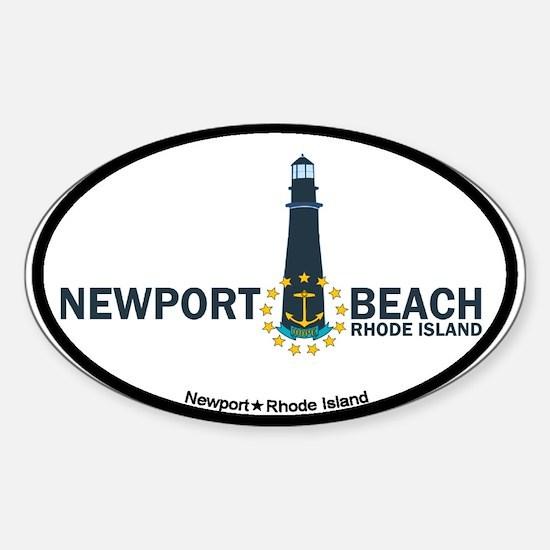 Newport Beach RI - Lighthouse Design Decal