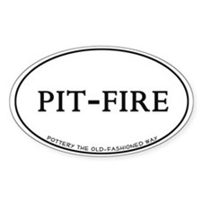 Pit-Fire Pottery Decal