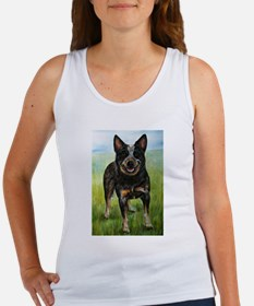 Cool Blue heeler Women's Tank Top