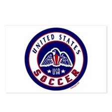 USA United States Soccer Postcards (Package of 8)