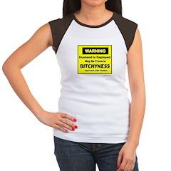 Approach with Caution Women's Cap Sleeve T-Shirt