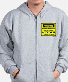 Approach with Caution Zip Hoodie