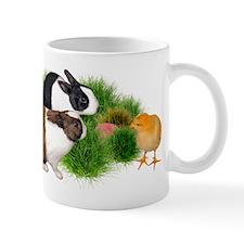 Dutch Bunnies with Chick Mug