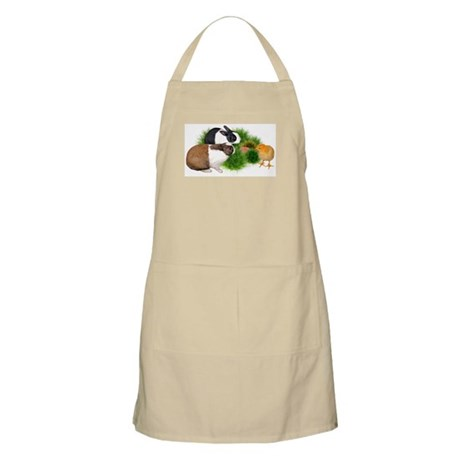 Dutch Bunnies with Chick Apron