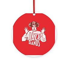 Jazz Hands Ornament (Round)