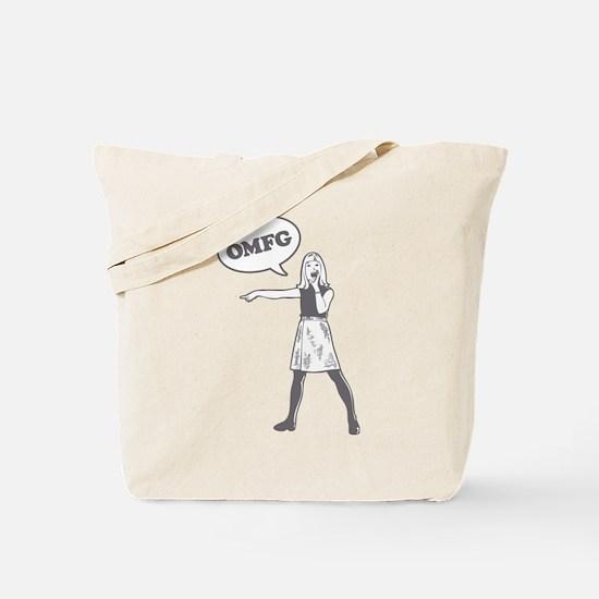 OMFG Tote Bag