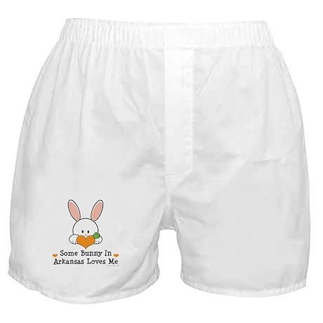 Some Bunny In Arkansas Loves Me Boxer Shorts