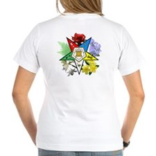 OES floral (on back) Shirt
