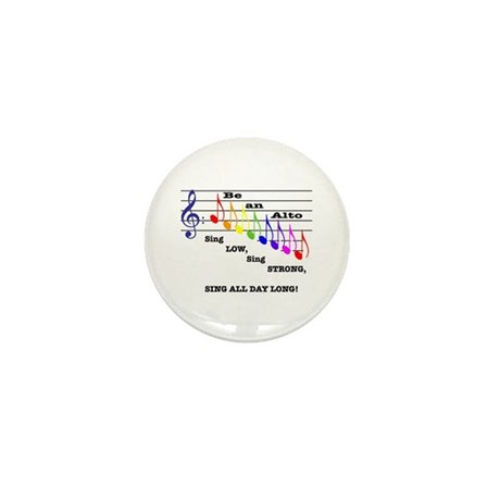 Be an Alto Mini Button (10 pack)