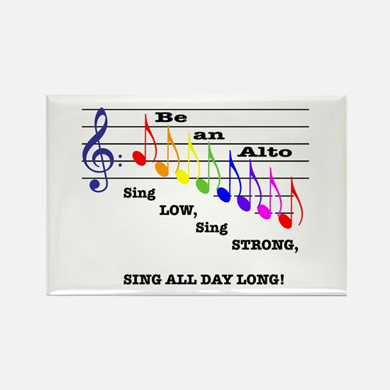 Be an Alto Rectangle Magnet (10 pack)