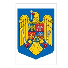 Romania Coat of Arms Postcards (Package of 8)