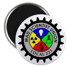 "Mad Scientist Union 2.25"" Magnet (100 pack)"