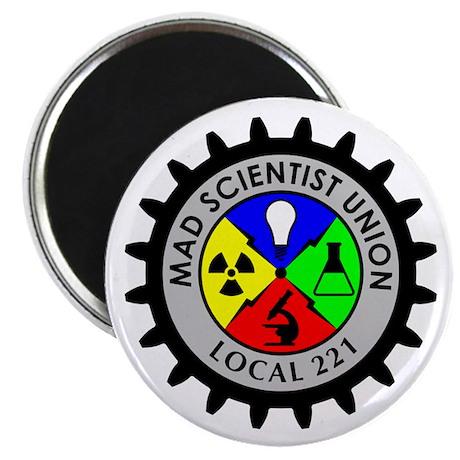 "Mad Scientist Union 2.25"" Magnet (10 pack)"