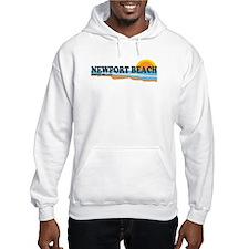 Newport Beach RI - Beach Design Hoodie