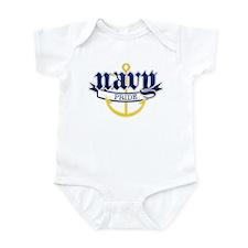 Navy Pride Infant Bodysuit
