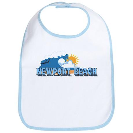 Newport Beach RI - Beach Designs Bib
