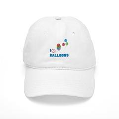 I Love Balloons Baseball Cap