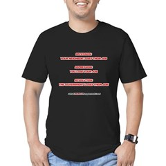 Revolution Men's Fitted T-Shirt (dark)