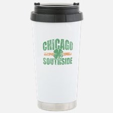 Chicago Southside Irish Stainless Steel Travel Mug