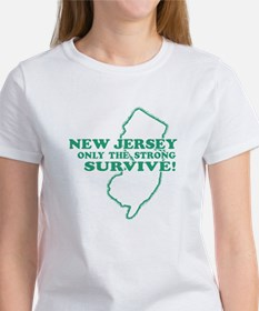 New Jersey Only the strong survive Tee
