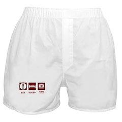 Eat Sleep Glenn Beck Boxer Shorts