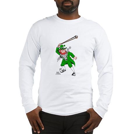 leprechaun png Long Sleeve T-Shirt