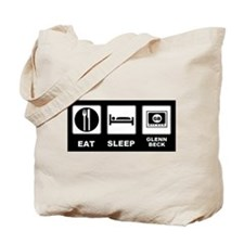Eat Sleep Glenn Beck Tote Bag