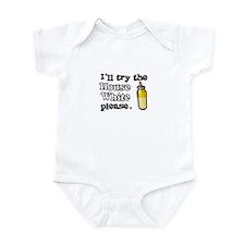 House White Infant Bodysuit