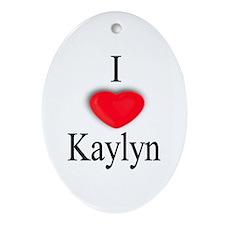 Kaylyn Oval Ornament